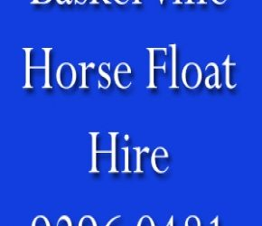 Baskerville Horse Float Hire 9296 0481