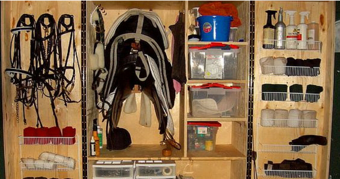 The Ultimate DIY Hack to make your tack room spectacular