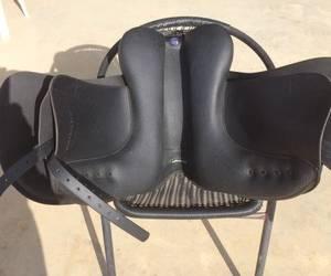 Black Wintec 500 Dressage Saddle for sale