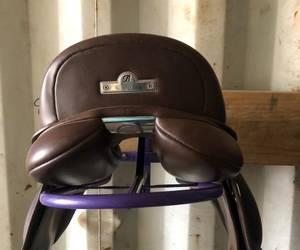"""14"""" Bates Pony Show Saddle"""