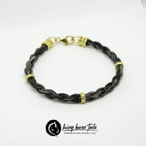Gold filled banded bracelet