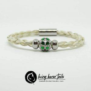 lucky clover bracelet