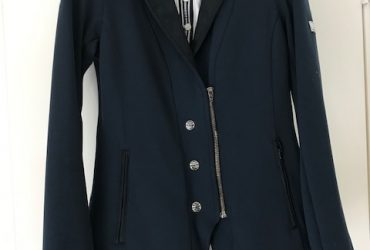 Navy Animo Jacket and shirt size AUS 12