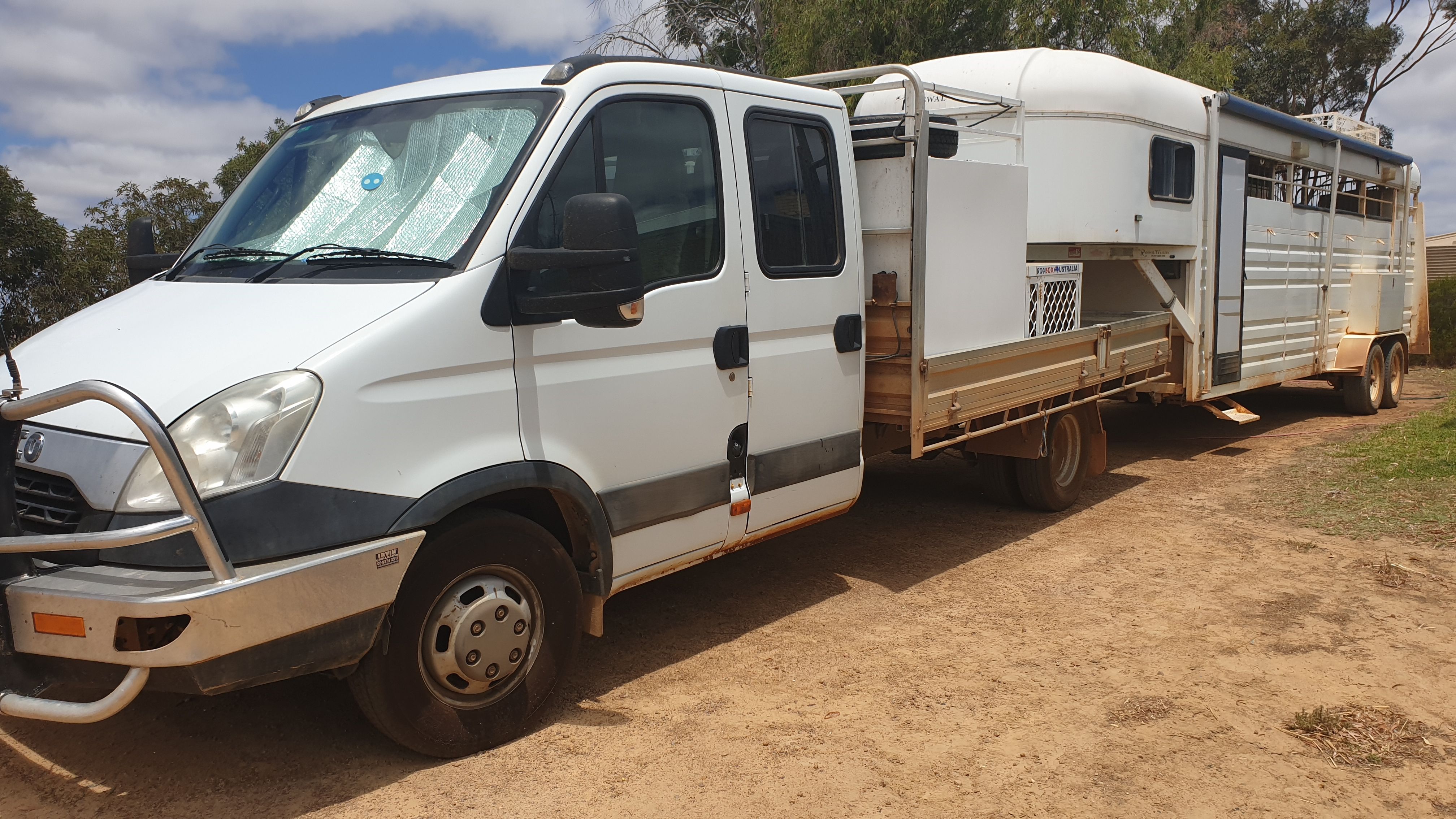 Iveco Daily & Roswal 5 Horse Gooseneck