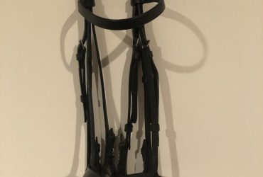Hansons Black Flat Double Bridle