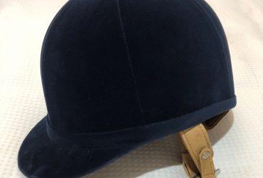 Navy Blue Show Helmet