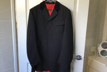 Black Hacking Jacket Harry Hall