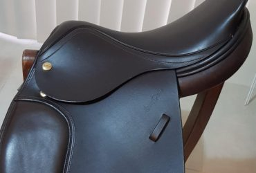 Harry Dabbs Pony Saddle Show Hunter or SJ 15 1/2 inch Made in UK