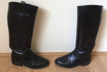 Long Black Handmade Boots