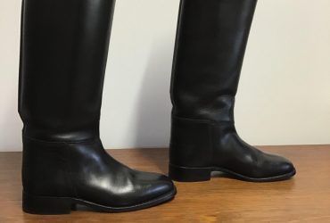 Cavallo leather top boots, ladies size 8 to 8.5